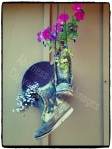 Boots and Flowers - copywright