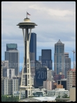 Patriotic Space Needle - copywright